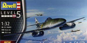 Messerschmitt Me 262 A-1/A-2 in 1:32 von Revell # 03875