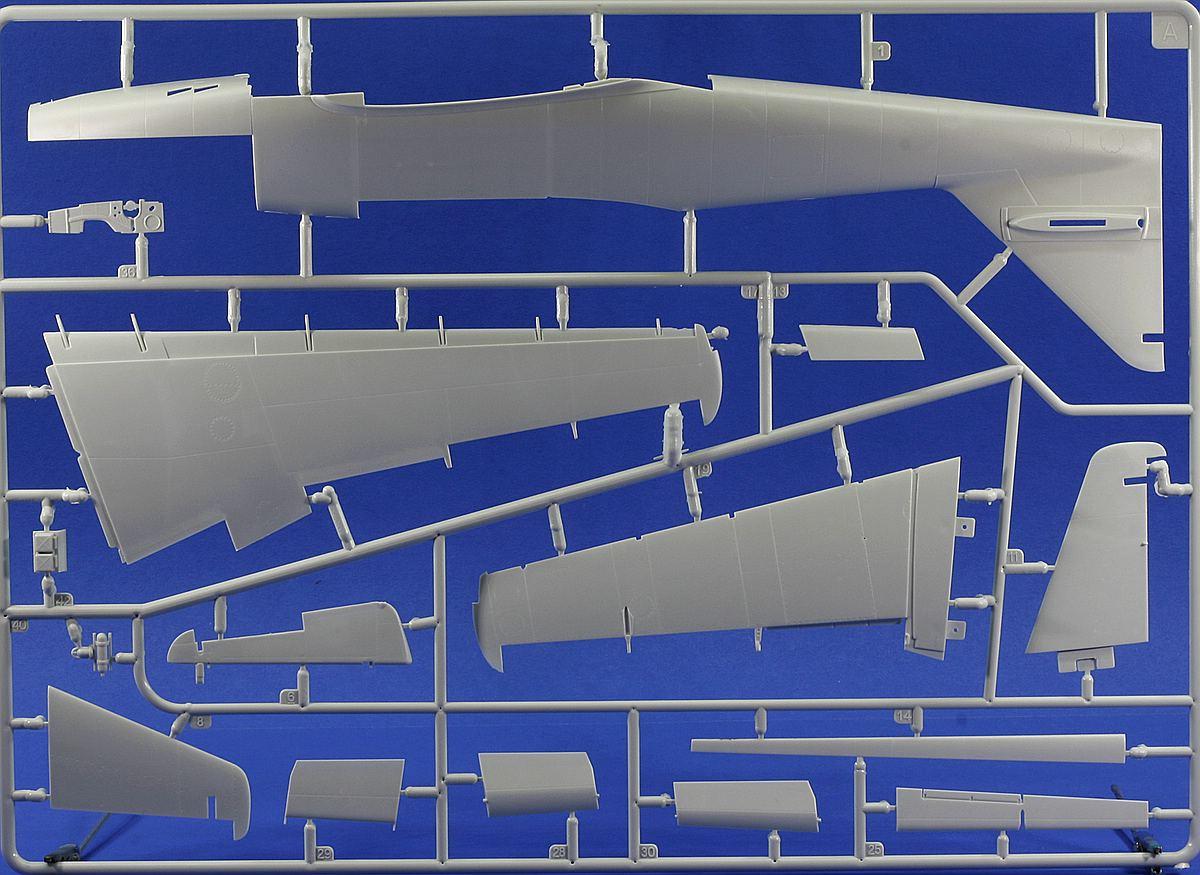 Revell-03875-Me-262-A-1-Rahmen-A Messerschmitt Me 262 A-1/A-2 in 1:32 von Revell # 03875