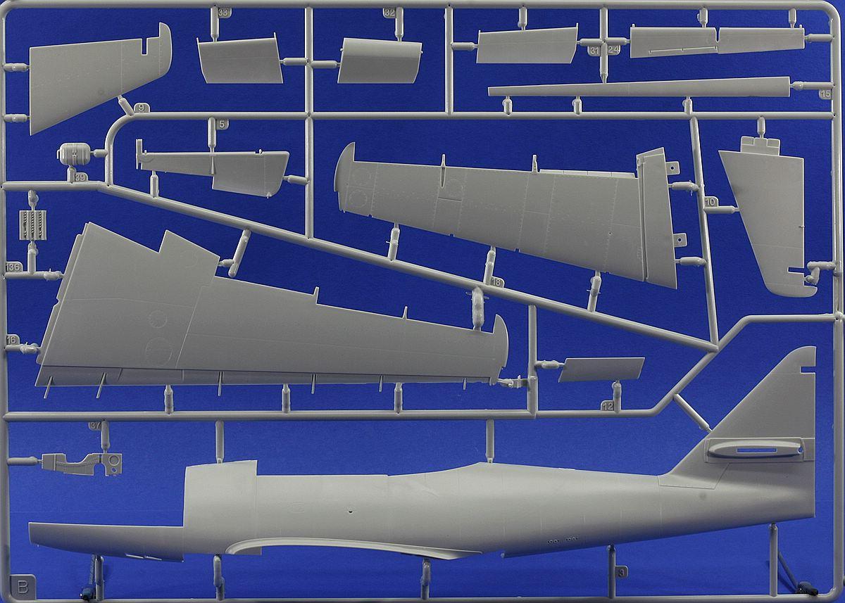 Revell-03875-Me-262-A-1-Rahmen-B Messerschmitt Me 262 A-1/A-2 in 1:32 von Revell # 03875