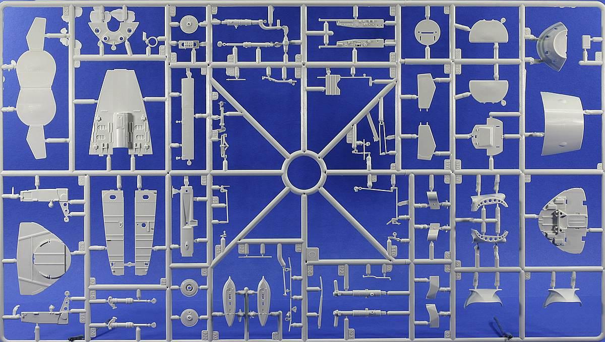 Revell-03875-Me-262-A-1-Rahmen-FahrwerkBewaffnung Messerschmitt Me 262 A-1/A-2 in 1:32 von Revell # 03875