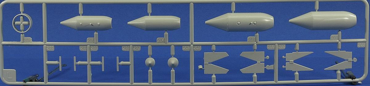 Revell-03875-Me-262-A-1-Rahmen-L Messerschmitt Me 262 A-1/A-2 in 1:32 von Revell # 03875