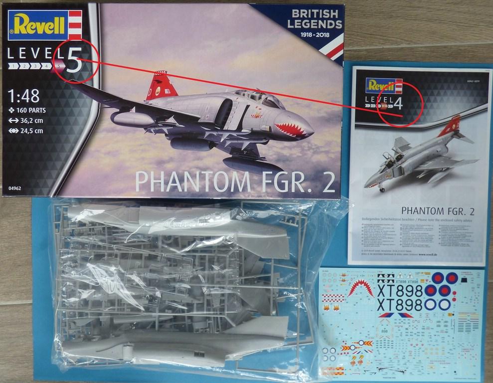 Revell-04962-Phantom-FGR-3 Phantom FGR 2 in 1:48 von Revell # 04962