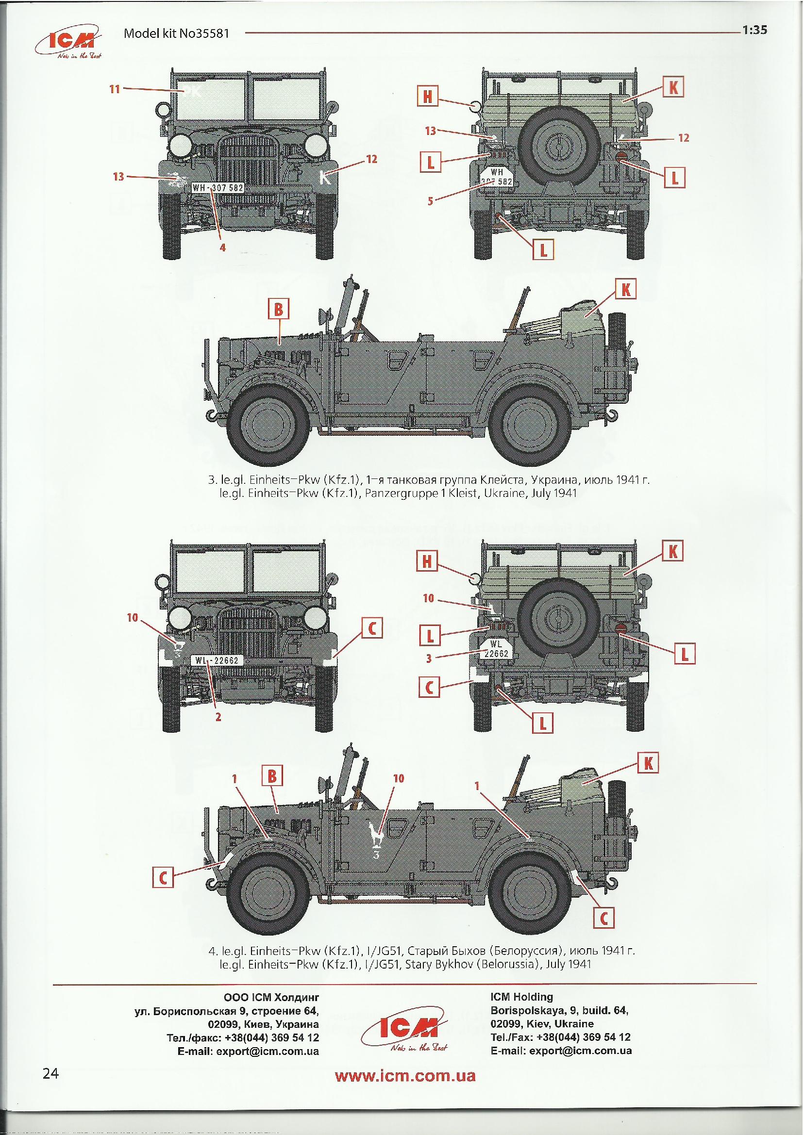 2019-09-04_Bauplan-ICM-Kfz_-1-024 Wehrmacht Off-Road Cars in 1:35 von ICM # DS3503