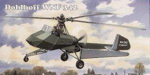 Doblhoff WNF-342 in 1:48 von AMP #48008