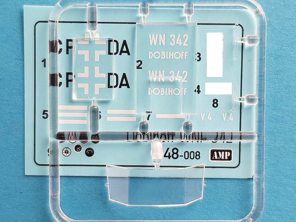 AMP-48008-Doblhoff-WNF-342-12 Doblhoff WNF-342 in 1:48 von AMP #48008