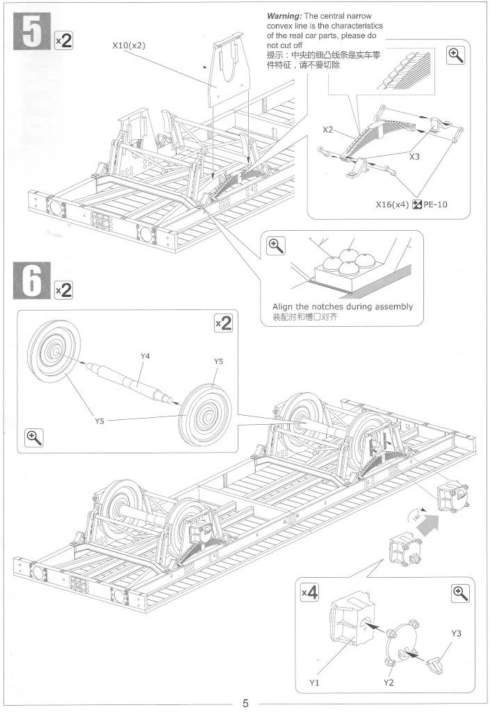 Anleitung05-1 Gedeckter Güterwagen G10 (6in1) - Red Cross 1:35 Sabre Model (35A01-RCSP)
