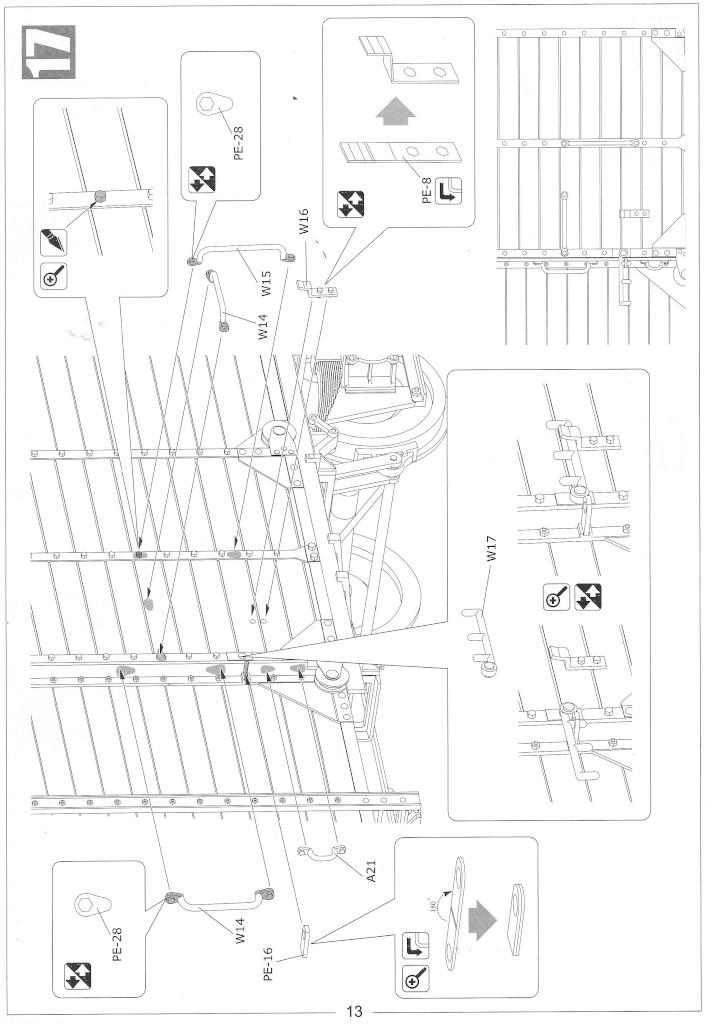 Anleitung13-1 Gedeckter Güterwagen G10 (6in1) - Red Cross 1:35 Sabre Model (35A01-RCSP)