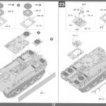 Anleitung13-2-150x150 Jagdpanther G1 Early Production w/Zimmerit & Schwerer Plattformwagen Type SSys 1:35 Takom (2125X)