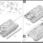 Anleitung14-2-150x150 Jagdpanther G1 Early Production w/Zimmerit & Schwerer Plattformwagen Type SSys 1:35 Takom (2125X)