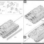 Anleitung14-2-150x150 Jagdpanther G1 Early Production w/Zimmerit & Schwerer Plattformwagen Type SSys 1:35 Takom (2125X)