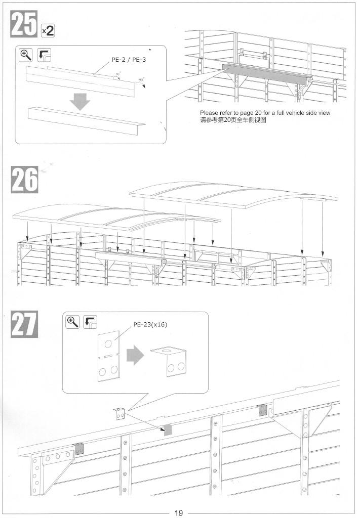 Anleitung19-1 Gedeckter Güterwagen G10 (6in1) - Red Cross 1:35 Sabre Model (35A01-RCSP)