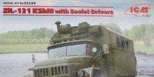 ZiL-131 KShM with Soviet Drivers 1:35 ICM (35524)