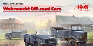 Wehrmacht Off-Road Cars in 1:35 von ICM # DS3503
