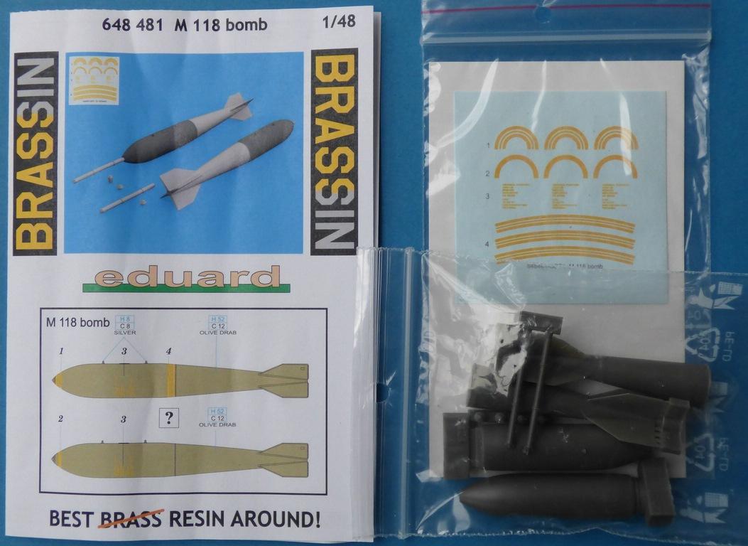 Eduard-648481-M-118-Bombe-2 M 118 Bombe in 1:48 von Eduard #648481