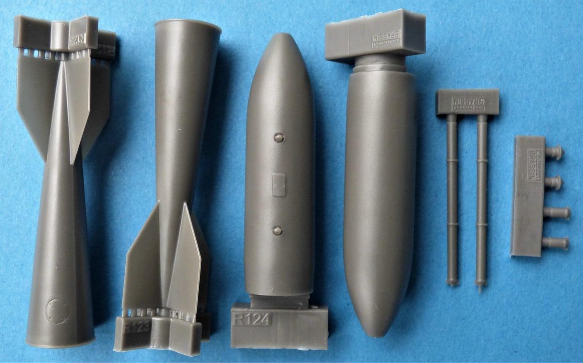 Eduard-648481-M-118-Bombe-3 M 118 Bombe in 1:48 von Eduard #648481