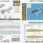 Eduard-648481-M-118-Bombe-8-150x150 M 118 Bombe in 1:48 von Eduard #648481