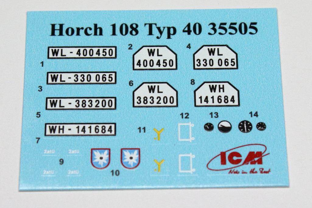 IMG_0001.Horch-108JPG Wehrmacht Off-Road Cars in 1:35 von ICM # DS3503