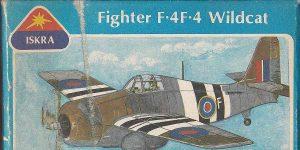 Kit-Archäologie: F4F-4 Wildcat in 1:72 von ISKRA (FROG F.432)