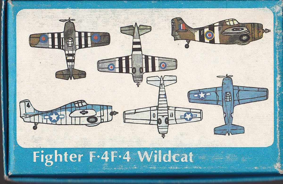 ISKRA-FROG-Wildcat-2 Kit-Archäologie: F4F-4 Wildcat in 1:72 von ISKRA (FROG F.432)
