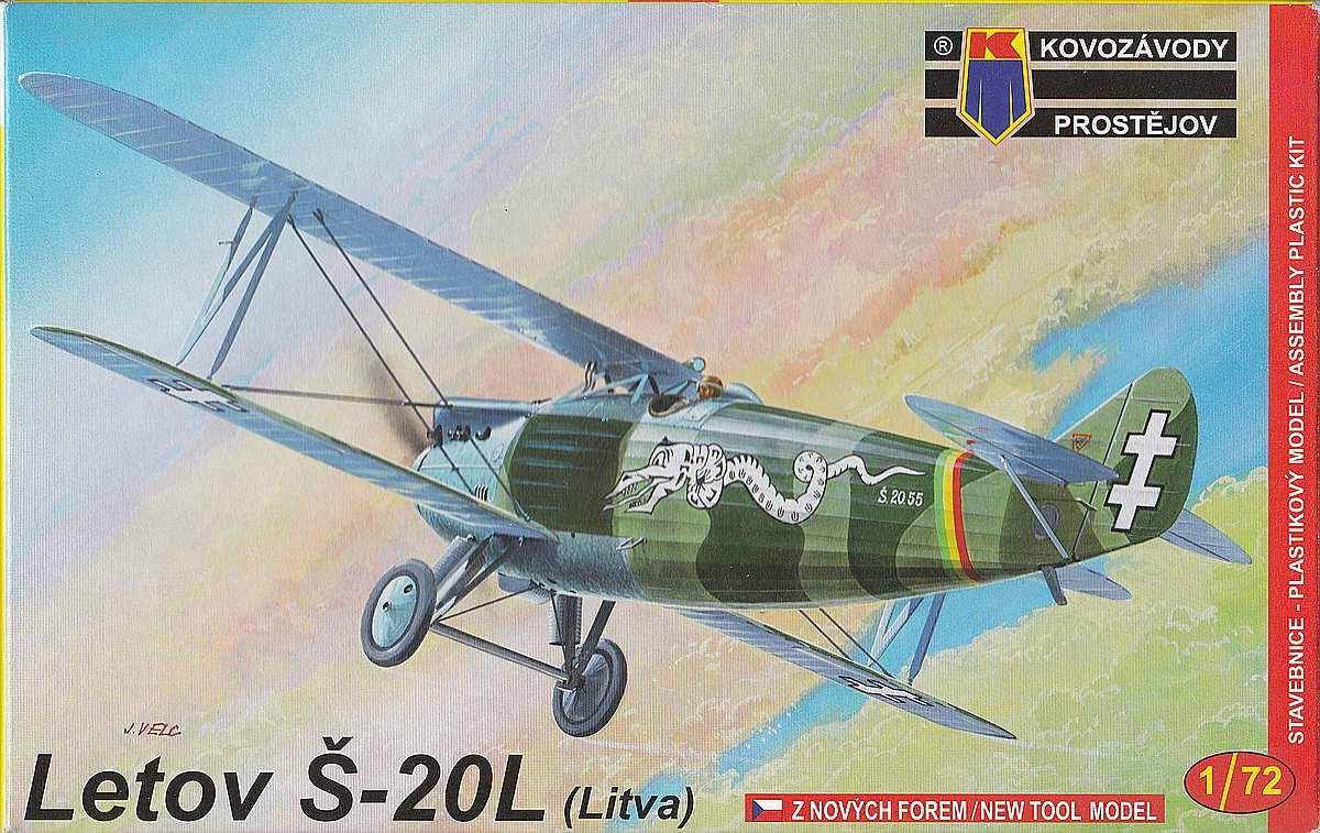 KP-KPM-0017-Letov-S-20L-1 Letov S-20 / S-20L in 1:72 von Kovozavody