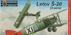 Letov S-20 / S-20L in 1:72 von Kovozavody