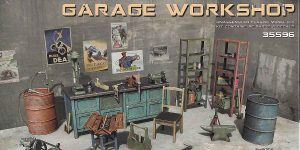 Garage Workshop in 1.35 von MiniArt #35596
