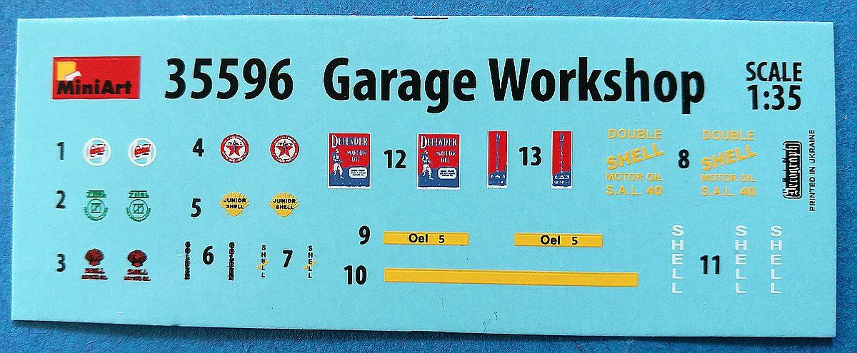 MiniArt-35596-Garage-Workshop-11 Garage Workshop in 1.35 von MiniArt #35596