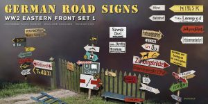 German Road Signs Eastern Front von MiniArt #35602