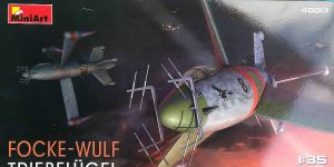 Focke Wulf Triebflügel als Nachtjäger von MiniArt 40027