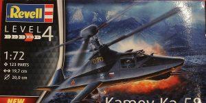 Kamov Ka-58 in 1:72 von Revell # 03889