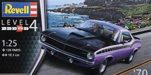 Plymouth AAR CUDA 1970 in 1:25 von Revell # 07664