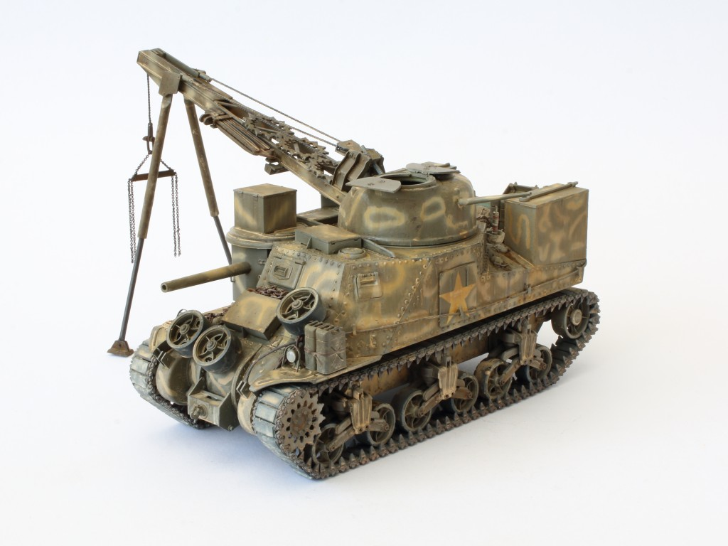 A-7 Build Review M31 U.S. Tank Recovery Vehicle 1:35 Takom (#2088)