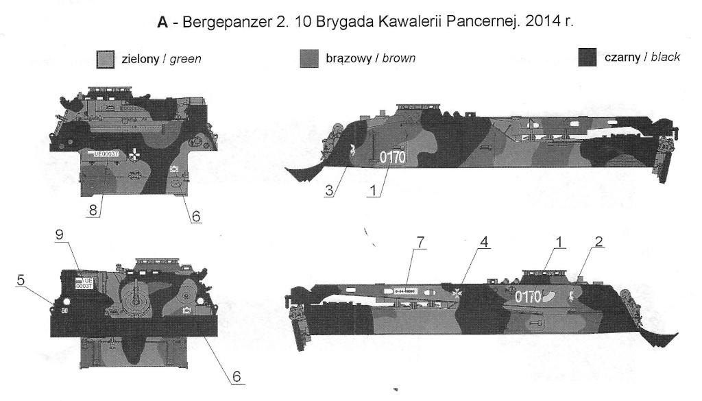 A Bergepanzer 2 in Polish Service 1:35 Toro Models (#35D61)