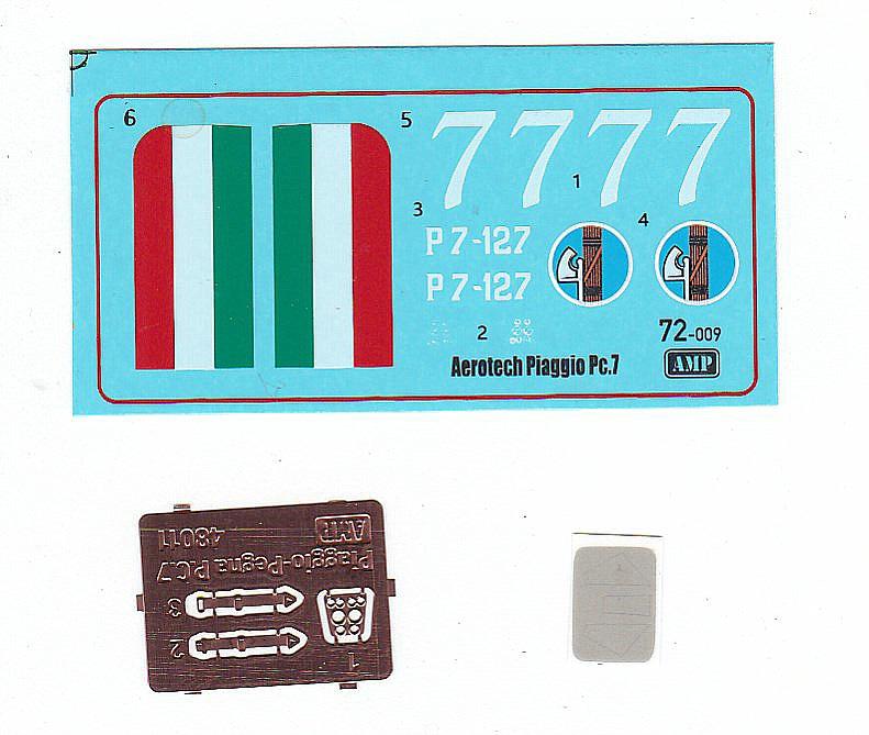 AMP-48011-Piaggio-Pegna-P.c-1 Piaggio Pegna P.c. 7 in 1:48 von AMP #48011
