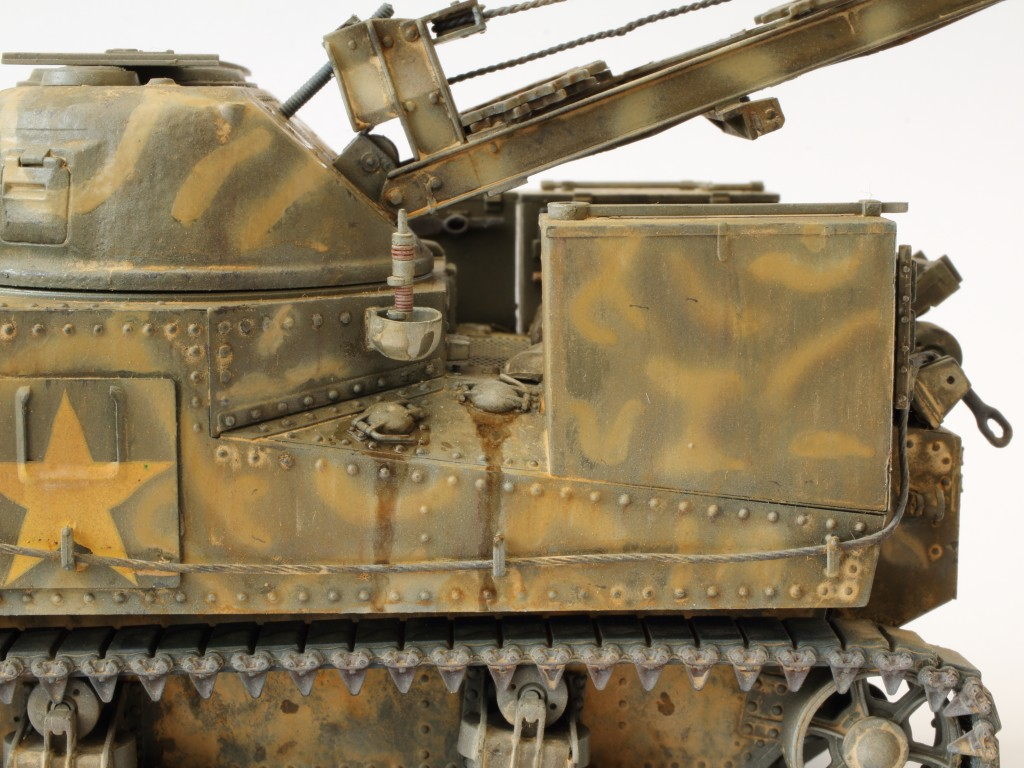 B-7 Build Review M31 U.S. Tank Recovery Vehicle 1:35 Takom (#2088)