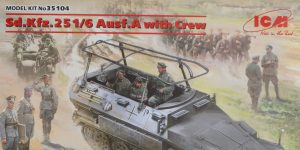 Sd.Kfz.251/6 Ausf. A with crew 1:35 ICM (#35104 )