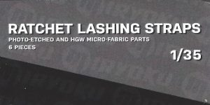 Ratchet Lashing Straps 1:35 Miryoku (MIR/001)
