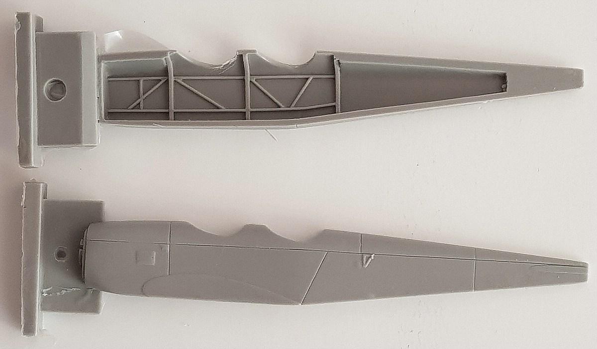 Brengun-BRS-48008-BFW-M23-56 BFW Messerschmitt M-23B in 1:48 von Brengun BRS 48008
