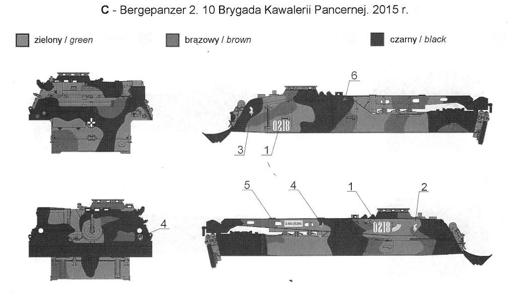 C Bergepanzer 2 in Polish Service 1:35 Toro Models (#35D61)