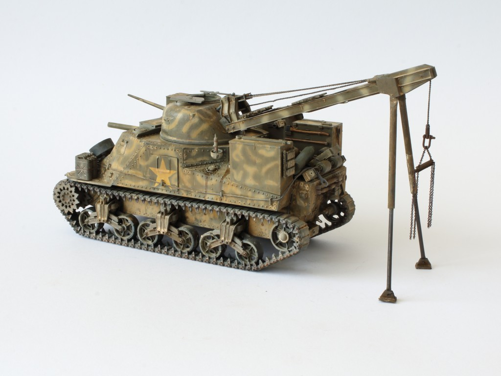 D-1 Build Review M31 U.S. Tank Recovery Vehicle 1:35 Takom (#2088)