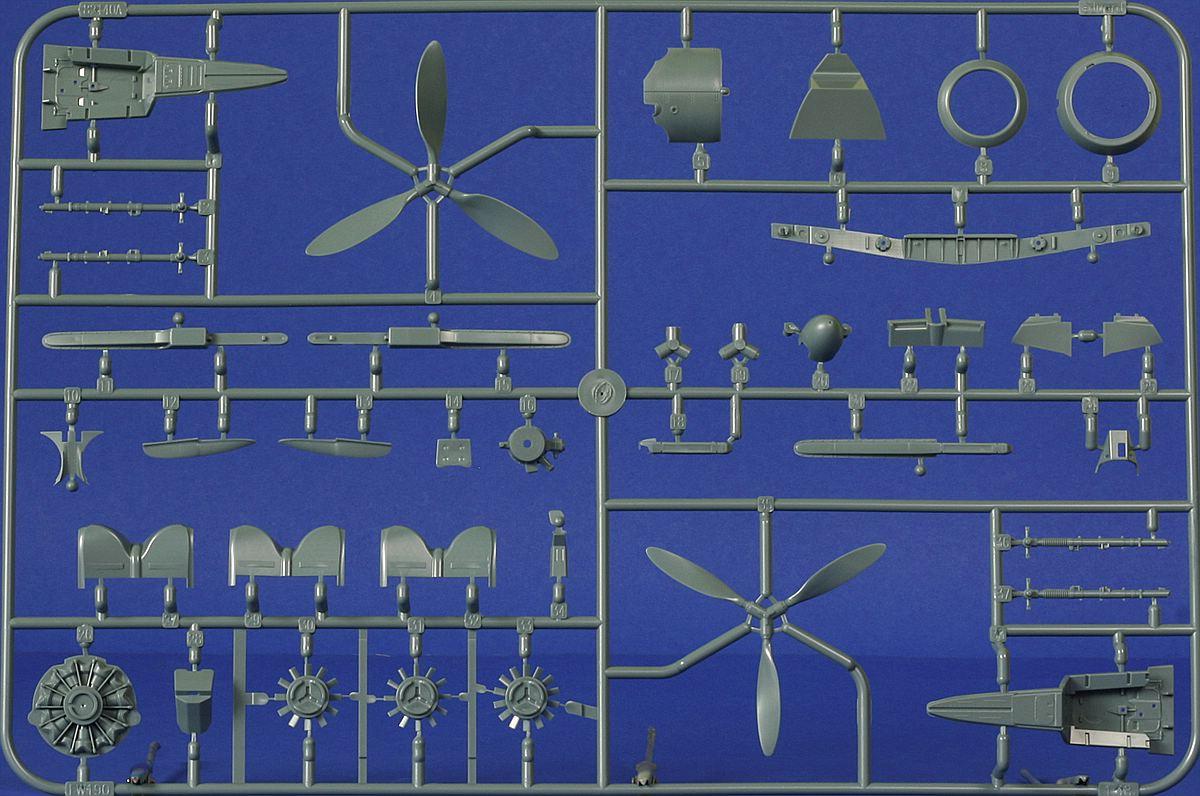 Eduard-82145-Fw-190-A8-R2-Rahmen-A-1 FW 190 A-8/R2 in 1:48 von Eduard # 82145