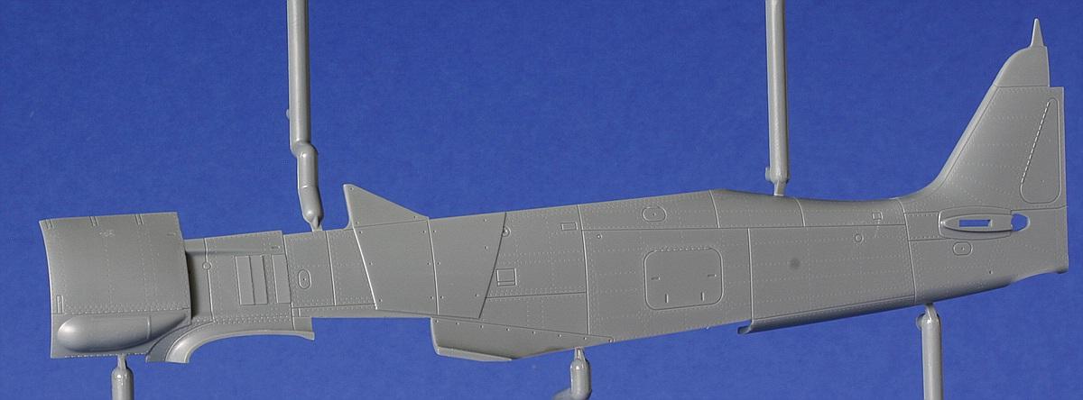 Eduard-82145-Fw-190-A8-R2-Rahmen-T-2 FW 190 A-8/R2 in 1:48 von Eduard # 82145