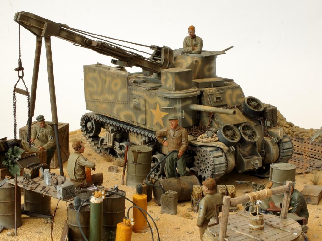I Build Review M31 U.S. Tank Recovery Vehicle 1:35 Takom (#2088)