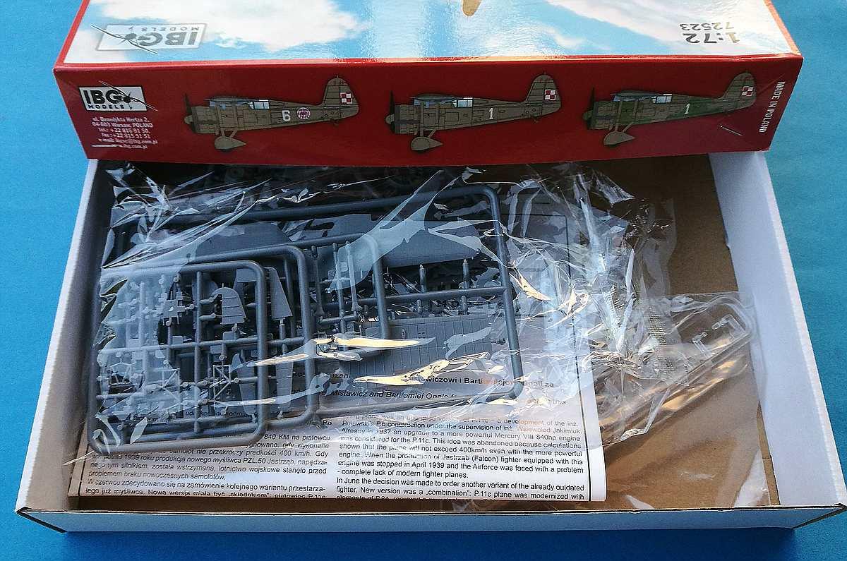 IBG-73523-PZL-P.11g-KOBUZ-17 PZL P.11g KOBUZ in 1:72 von IBG #72523