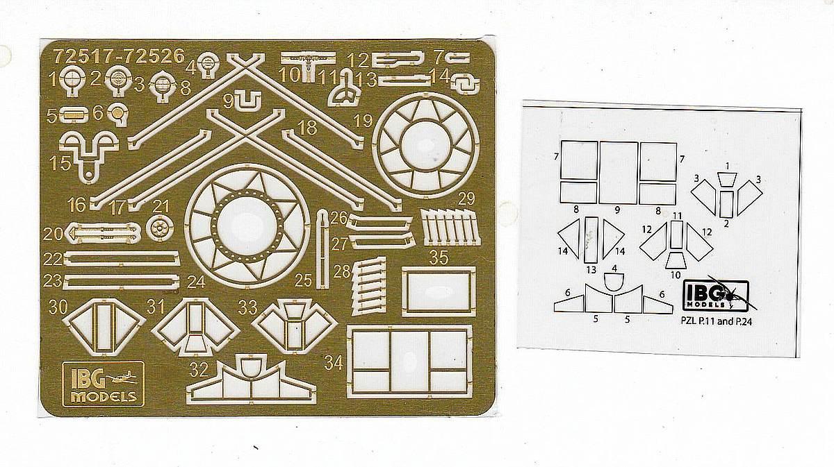 IBG-73523-PZL-P.11g-KOBUZ-2 PZL P.11g KOBUZ in 1:72 von IBG #72523