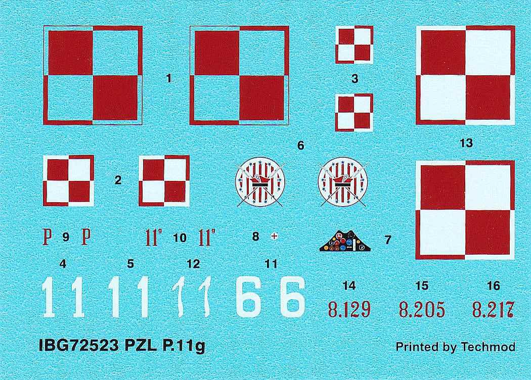IBG-73523-PZL-P.11g-KOBUZ-4 PZL P.11g KOBUZ in 1:72 von IBG #72523