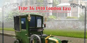 Type AG 1910 London Taxi in 1:24 von ICM #24031