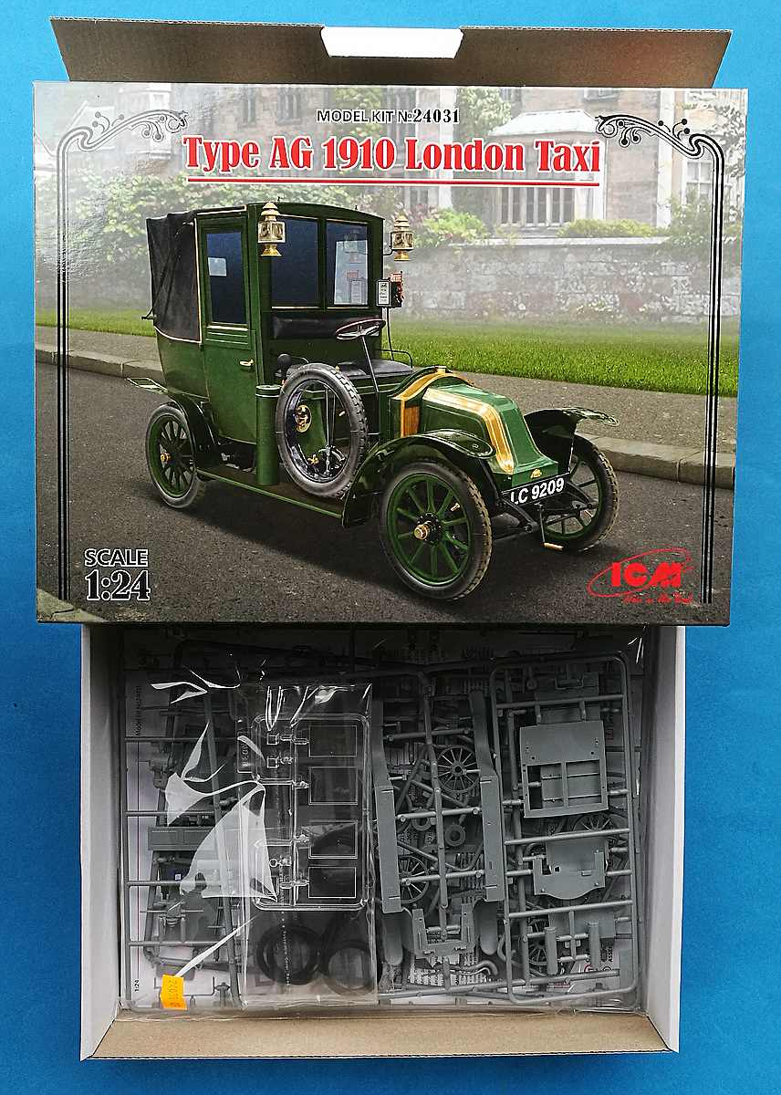 ICM-24031-Type-AG-1910-London-taxi-17 Type AG 1910 London Taxi in 1:24 von ICM #24031