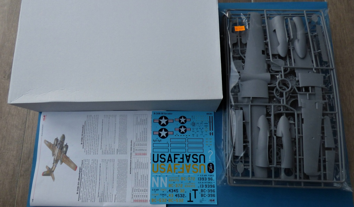 ICM-48281-B-26B-50-Invader-Korea-2 B-26 B-50 Invader Korea in 1:48 von ICM #48281