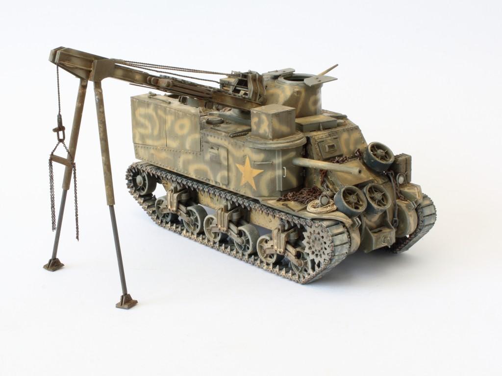 K Build Review M31 U.S. Tank Recovery Vehicle 1:35 Takom (#2088)